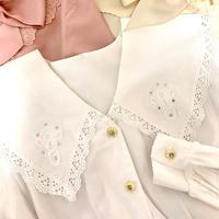 vintage sailor design  blouse