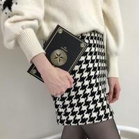 vintage chidori pattern  skirt