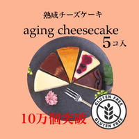 【小麦不使用】熟成チーズケーキ 5個入り