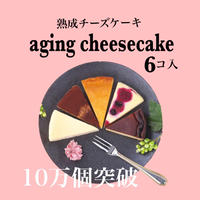 熟成チーズケーキ  6個入り(カット済)