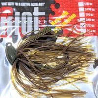ライオットベイツ【タングステン ミニマジグ  1/2oz.】グリーンパンプキン