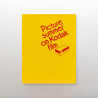 PICTURE SUMMER ON KODAK FILM by Jason Fulford [SIGNED]