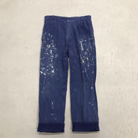 "mid 20th c. french work pants ""Le Mont Saint Michel"""