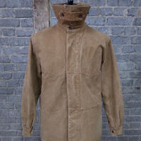"mid 20th c. french railroader's  jacket ""cotton duck"""