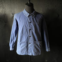 "mid 20th c. french cotton twill work jacket ""marine"""