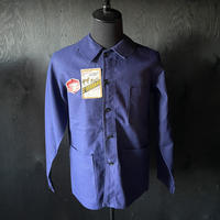 """mid 20th c. french cotton work jacket dead stock """"mont st bernard"""""""