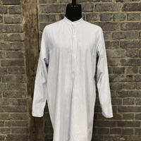 """early 20th c. french work shirt """"cotton linen"""""""