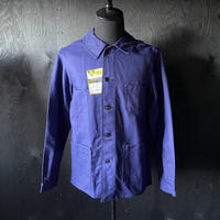 """mid 20th c. french cotton work jacket dead stock """"l'athléte"""""""