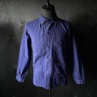 "mid 20th c. french cotton work jacket ""indigo"""
