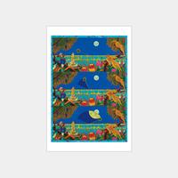 大・タイガー立石展 オリジナルポストカード「Wiper in Jungle」