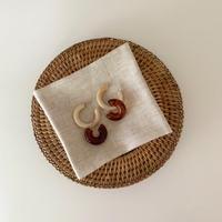 mocha marble pierce