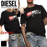 DIESEL ディーゼル ユニセックス 半袖カットソー T-シャツ 大人気商品