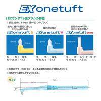 EX onetuft ワンタフト  S/M/システマ  ふつう 3色アソート  20本入 ライオン