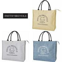 SMITH-BRINDLE ジュート風ショッピングバッグ【保冷】