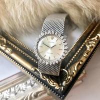 外装磨き済み✨28pダイヤ ロレック ROLEX プレシジョン 腕時計