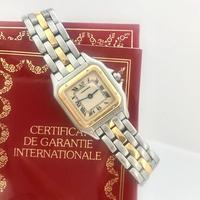 美品✨カルティエ Cartier パンテール コンビ 腕時計レディース