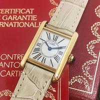 美品✨カルティエ Cartier マストタンク SM レディース 腕時計