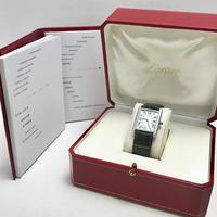 全て純正◾︎Cartier カルティエ タンクソロ LM 腕時計 メンズ◾︎