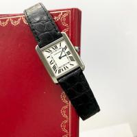 全て純正✨Cartier カルティエ タンクソロ SM 腕時計 レディース