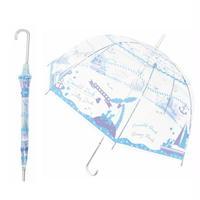 【送料無料】オシャレで可愛い大人ビニール傘が登場! ドナルド&デイジー   大人ビニール傘 60cm キャラクター長傘