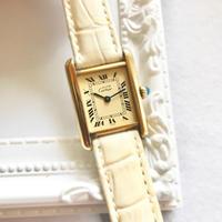 美品✨カルティエ Cartier ミニマストタンク 腕時計 レディース