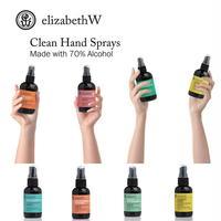 【3本まとめ割】アルコール 70%以上配合 elizabethW エリザベスW リフレッシュ ハンドスプレー 携帯 除菌 素敵な香り