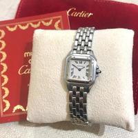 美品✨ カルティエ SM Cartier パンテール シルバー レディース腕時計