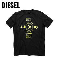 DIESEL ディーゼル ユニセックス T-シャツ ブラック