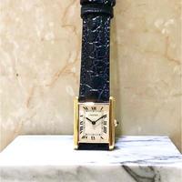 美品 カルティエ Cartier 時計 タンクルイ 18K YG クオーツ