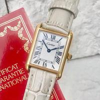 美品✨カルティエ Cartier マストタンク 腕時計 レディース