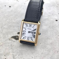 美品✨カルティエ Cartier マストタンク 手巻き腕時計