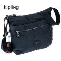 【送料無料】KIPLING/キプリング レディース 薄マチ 斜めがけ ショルダーバッグ TRUE NAVY