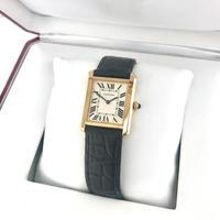 保証書付き◾︎カルティエ Cartier タンクソロ LM メンズ 腕時計