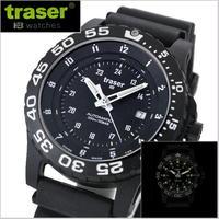 【送料無料】traser(トレーサー) 腕時計 TYPE6 MIL-G Automatic PRO ミルスペック オートマチック プロ 自己発光システム搭載 ミリタリーウォッチ