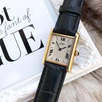 美品✨カルティエ Cartier マストタンク クォーツ腕時計