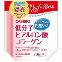 オリヒロ 低分子ヒアルロン酸コラーゲン袋 180g
