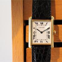 カルティエ Cartier タンクルイ LM 腕時計 メンズ