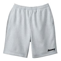 Basic Logo Sweat Shorts - グレーA