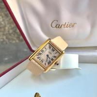 美品✨カルティエ Cartier アクアリーノ マストタンク 腕時計