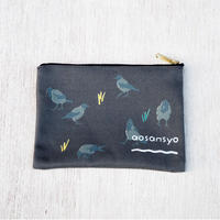 Greycrow pouch S (black)