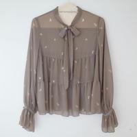 SOWA |  「foggy foggy」waltz blouse