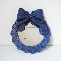YOSHIKO | かべかけミラー  big ribbon