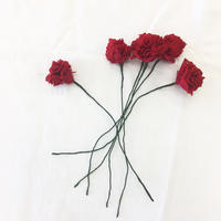 point de Japon / Artificial Flower / Red