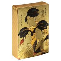 黄金の国 ジパングコレクション トランプ 「浮世絵シリーズ 歌麿」