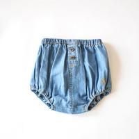ブルマ Denim coulotte with back pockets / tocotovintage (トコトヴィンテージ)
