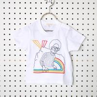 RAINBOW刺繍Tシャツ (120/130cm)/soulmania(ソウルマニア)