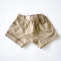 サルエル短パン Twill Sarouel Shorts  / arkakama(アルカカマ)