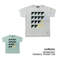 プリントTシャツ トライアングル  / ソルボア