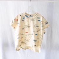 Tシャツ  COTTON SPDX WIDE S/S TEE HEIWA  / arkakama(アルカカマ)