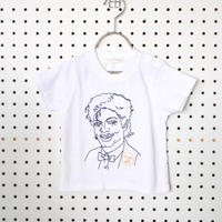 KING OF POP刺繍Tシャツ (90/100/110cm)/soulmania(ソウルマニア)